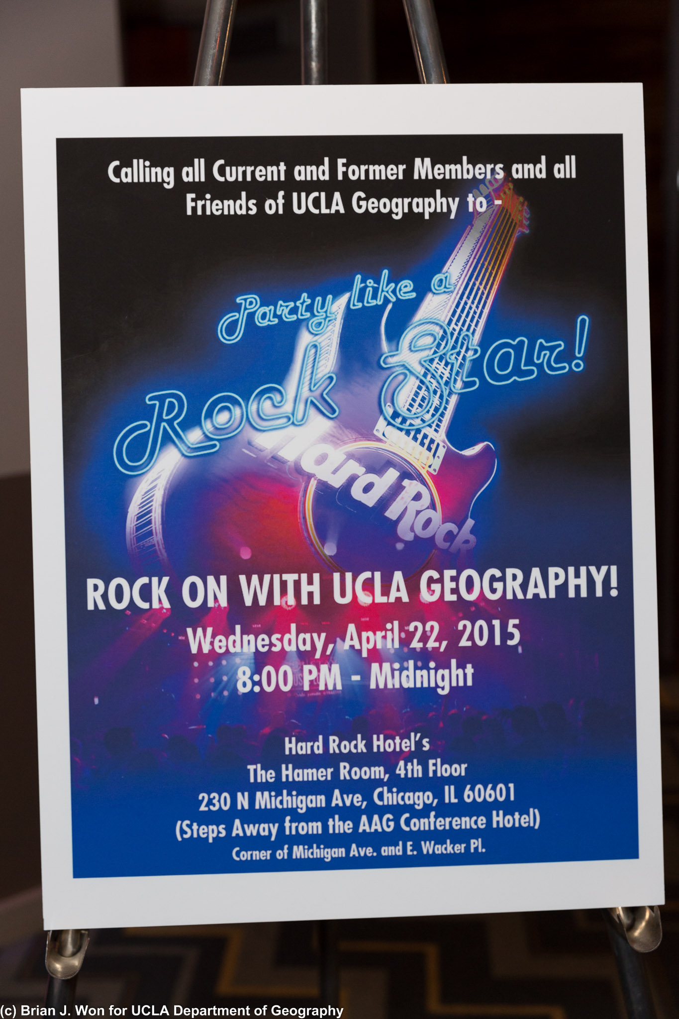 UCLA AAG Party flyer