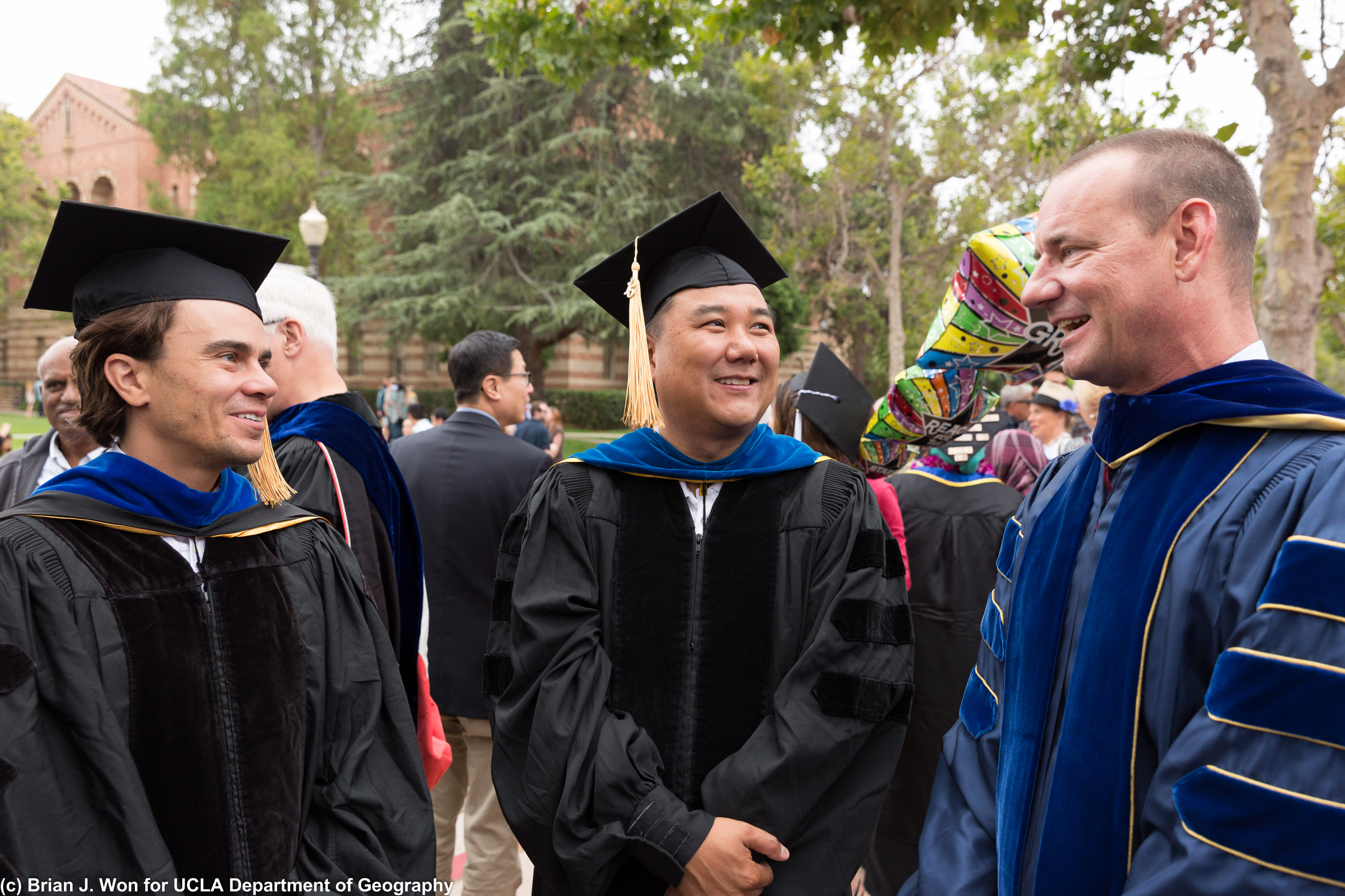 Professors Cavanaugh, Shin, and Gillespie
