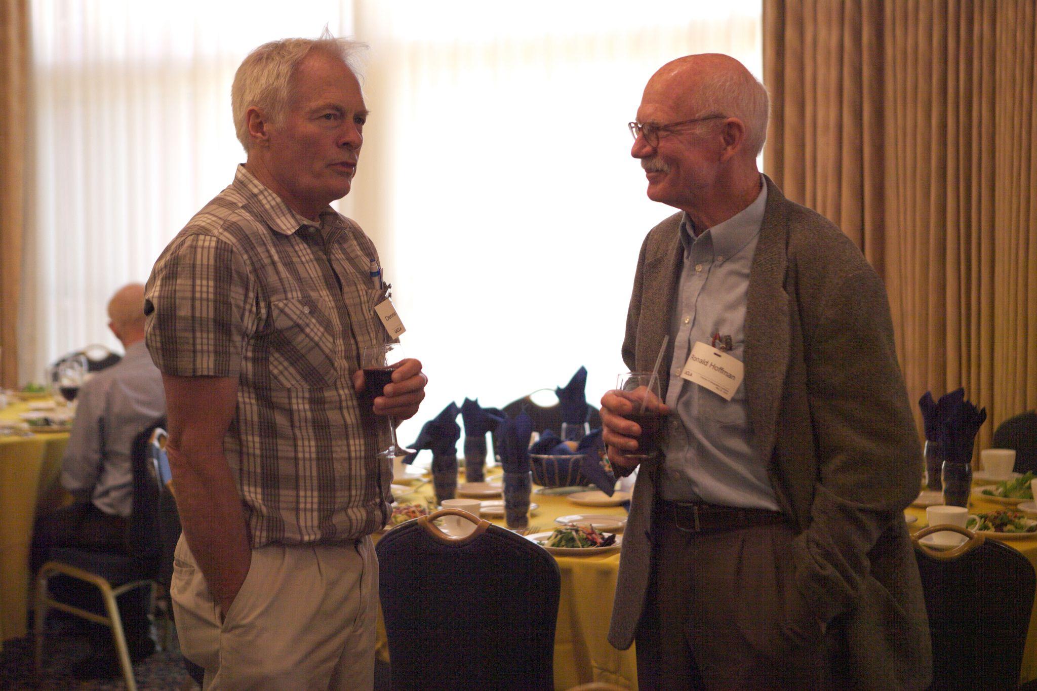 Professor Lettenmaier and Ronald Hoffman