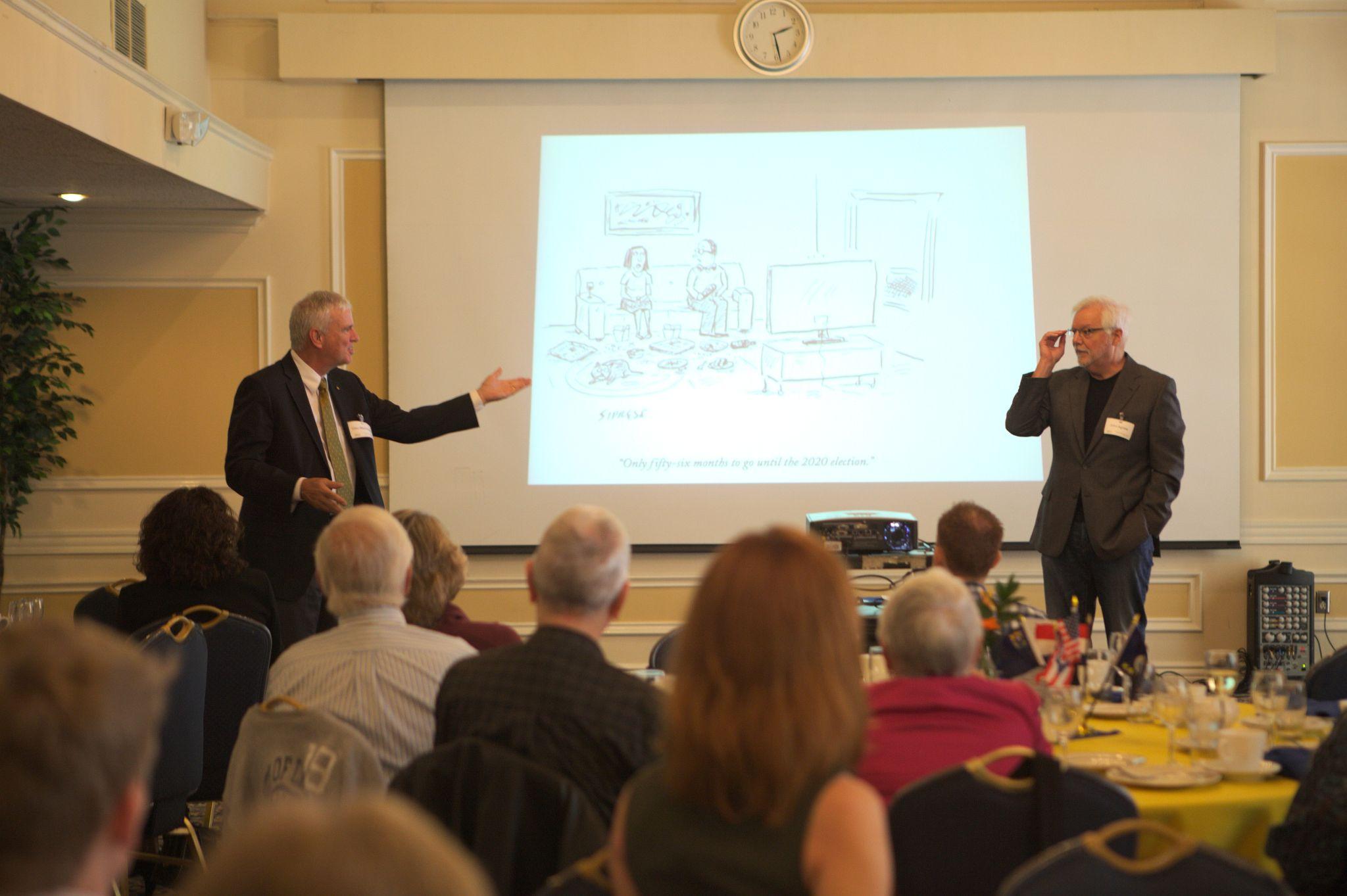 Professor MacDonald and Professor Agnew