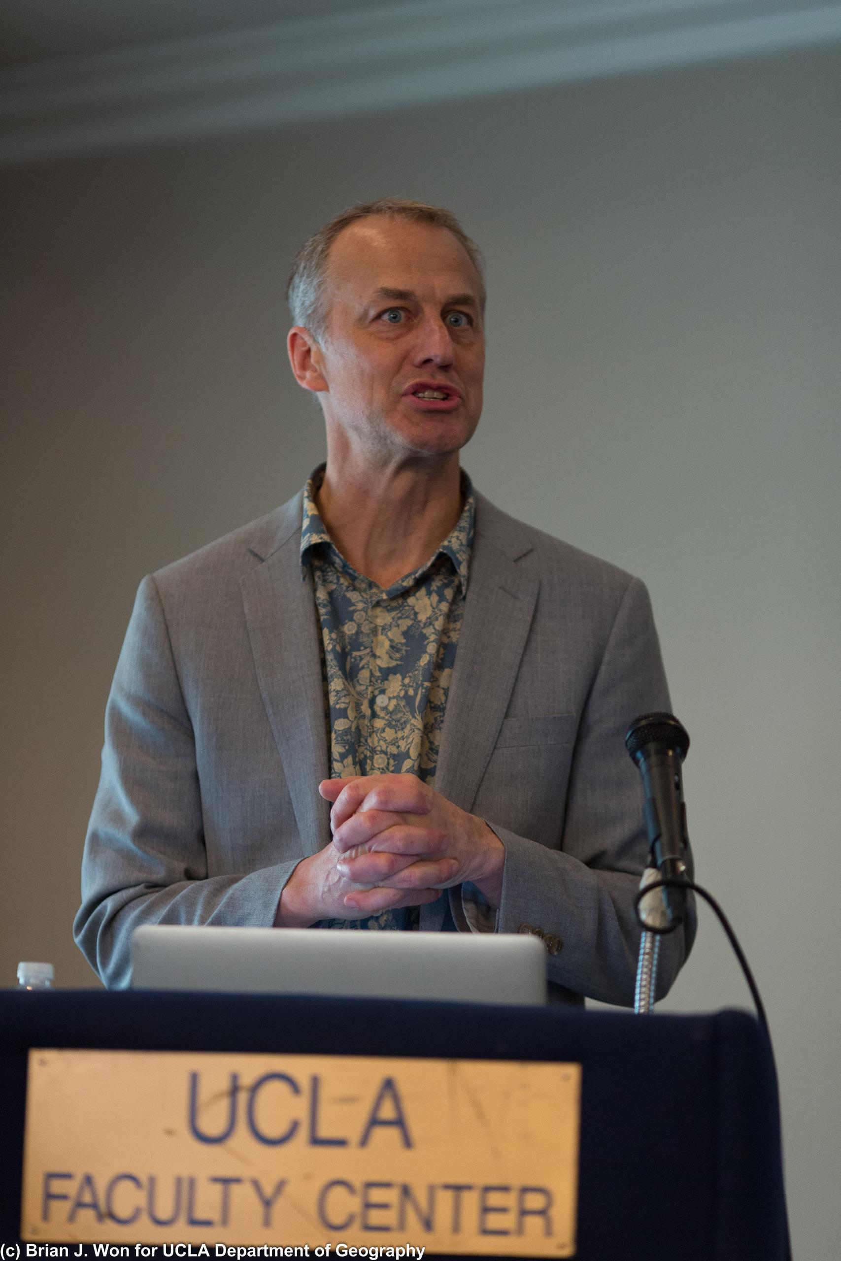 Professor Bruce Braum, speaker