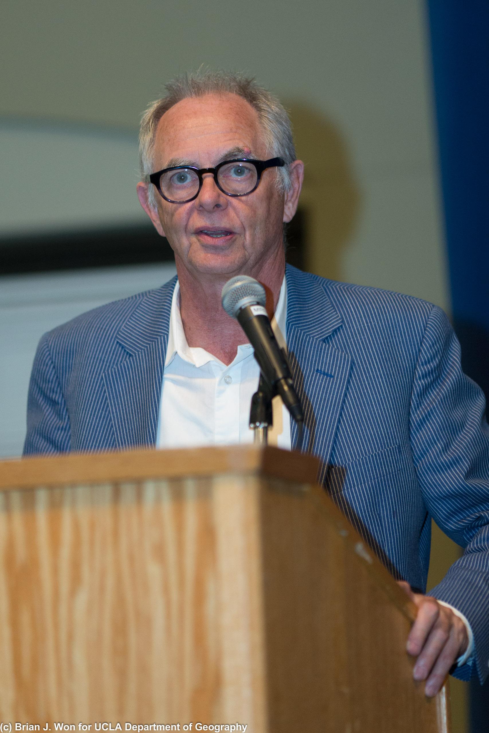 Professor and von Humboldt Chair Eric Sheppard