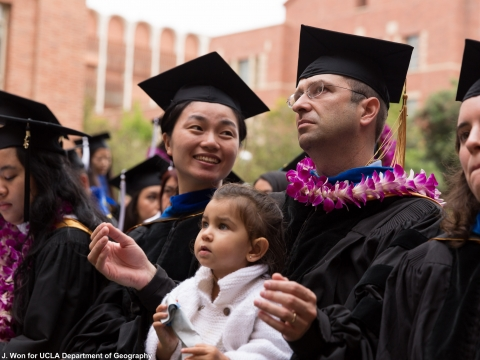 UCLA Geography Commencement 2015