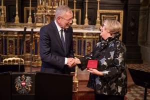 Professor Leitner receives Austrian Decoration for Science and Art