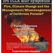 Save the date for 3rd UCLA Muir Symposium