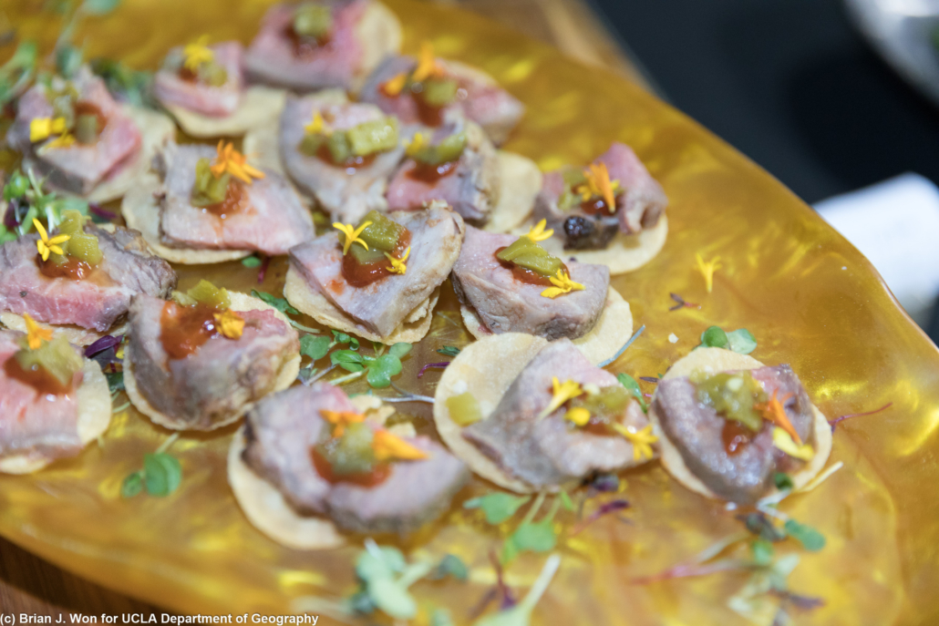 Beef hors d'oeuvres