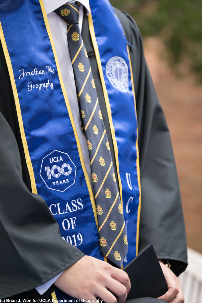 Photo of UCLA Class of 2019 sash