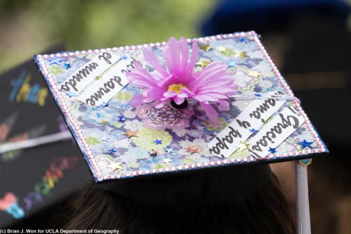 Photo of decorated cap