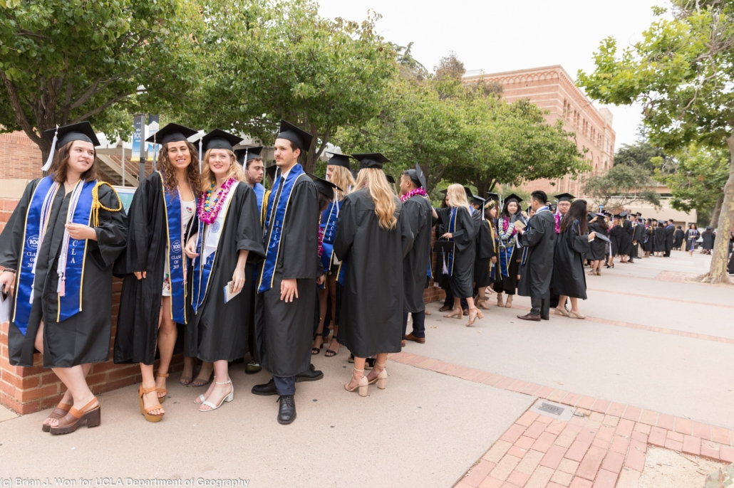 Photo of students at commencement ceremony
