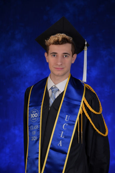 """To my supportive family and friends that made my idyllic years at UCLA possible: thank you! Your unwavering support is electrifying. I hope I can continue making you all proud in the years to come. Mon coeur palpite pour vous."""