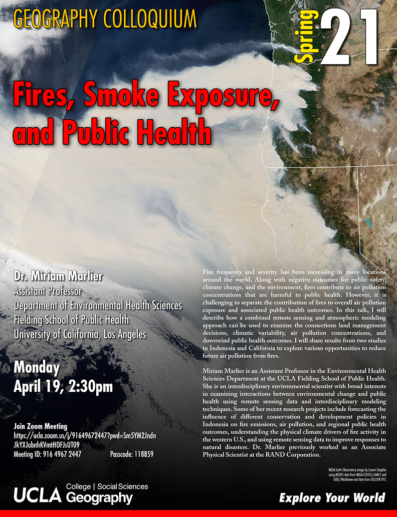 fires, smoke exposure and public health