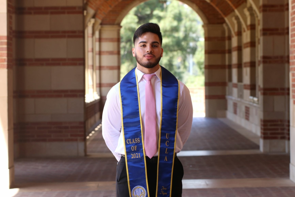 Graduating from UCLA was always my academic goal, today I can say I accomplished it!