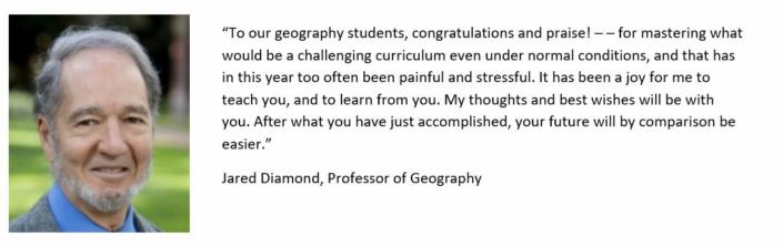 Professor Jared Diamond