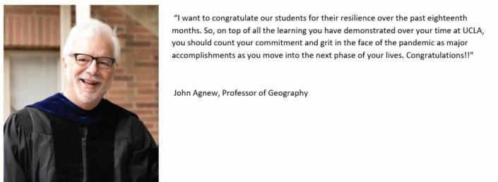 Professor John Agnew